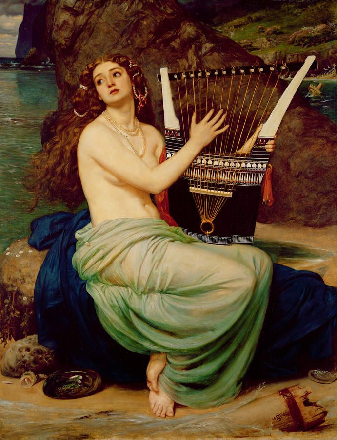 The_Siren_by_Edward_John_Poynter_(1864)